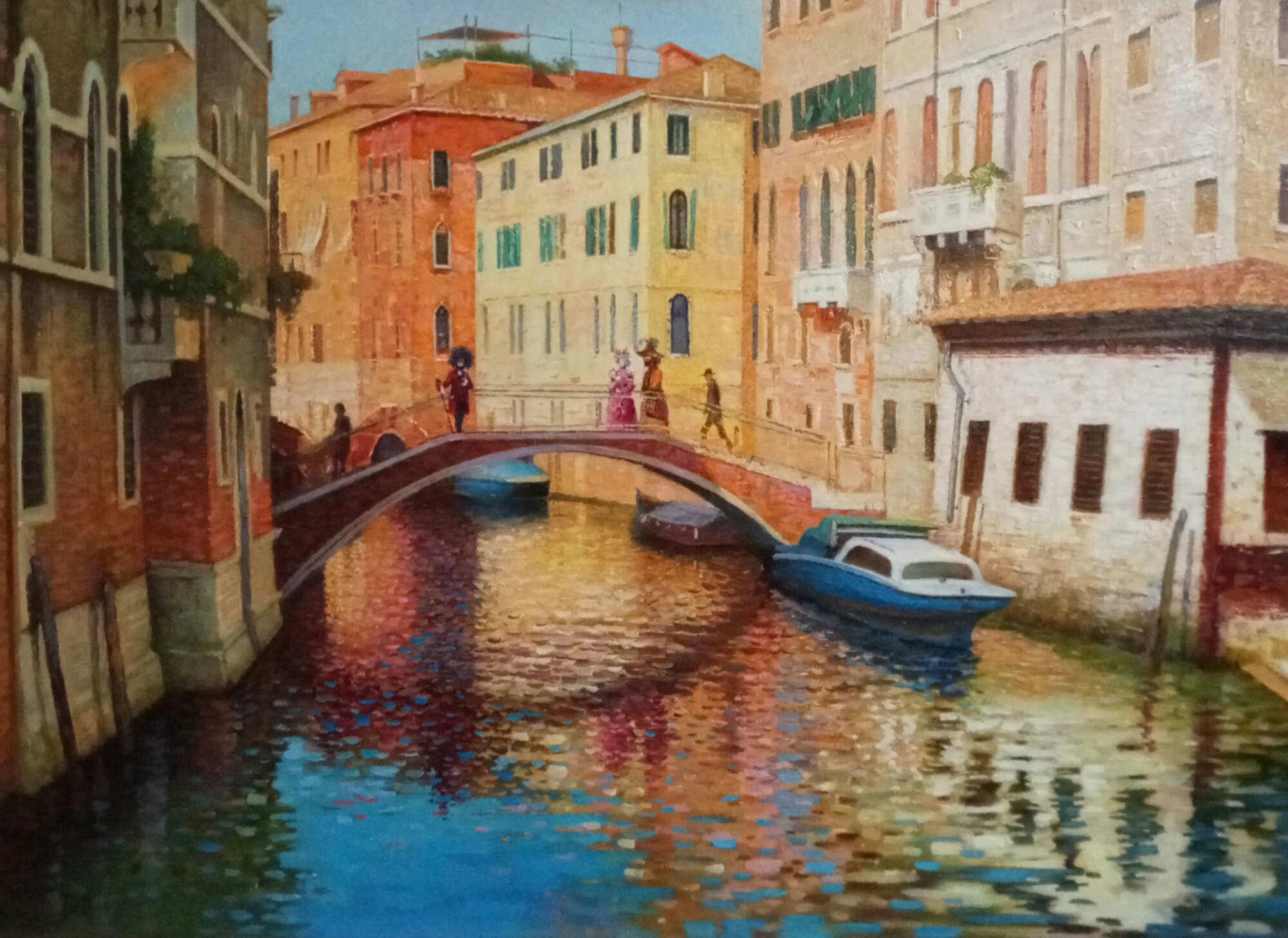 Вид Венеции от Вид от церкви Санта Мария Формоза